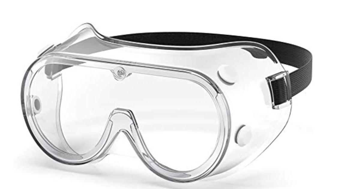 gafas cerradas de protección tipo google
