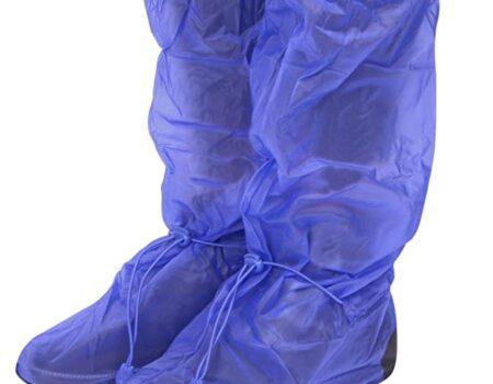 cubrebotas azul plástico