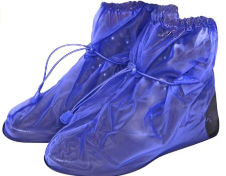 protector zapatos azul
