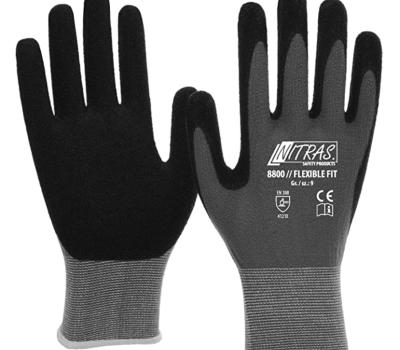 3 pares de guantes de trabajo Nitras